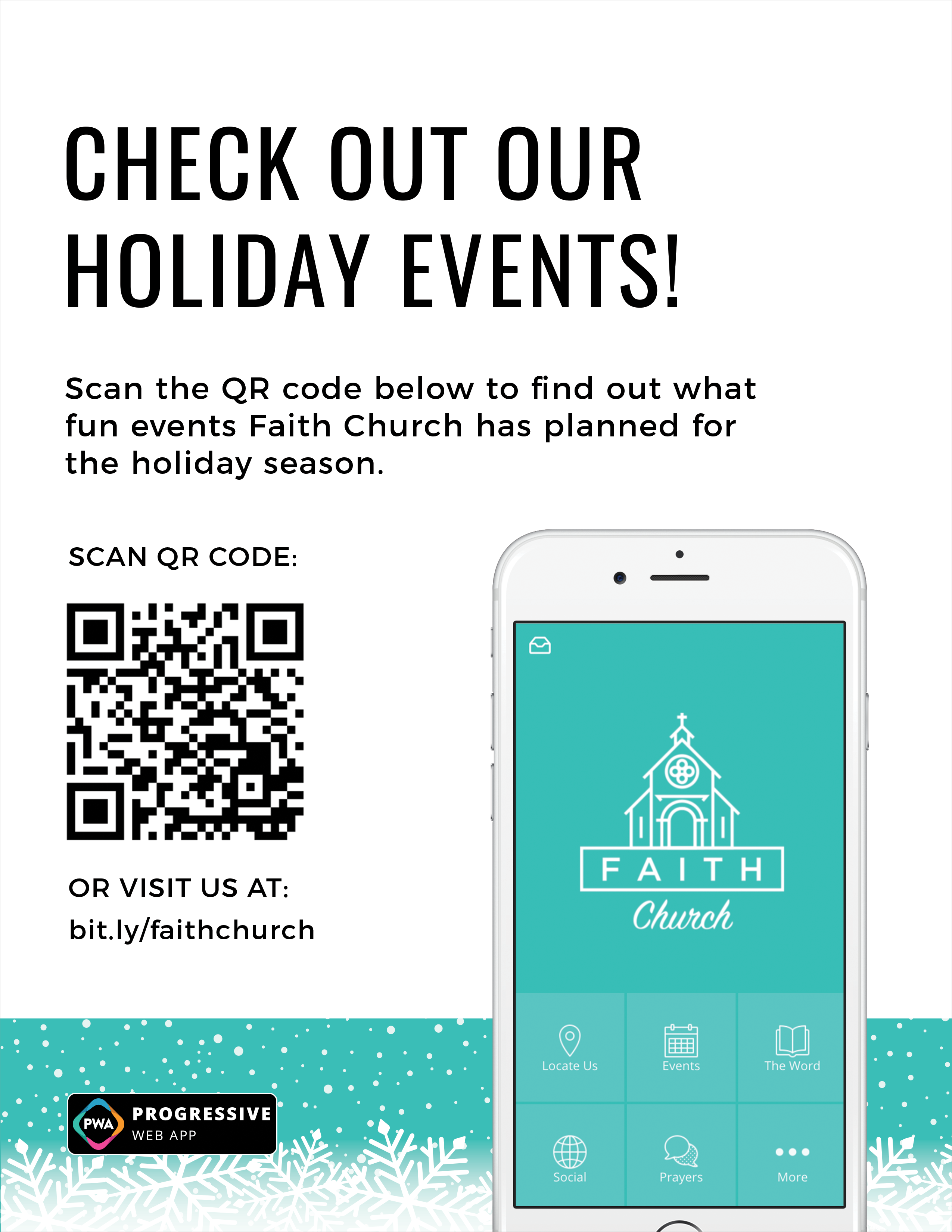 holiday QR code