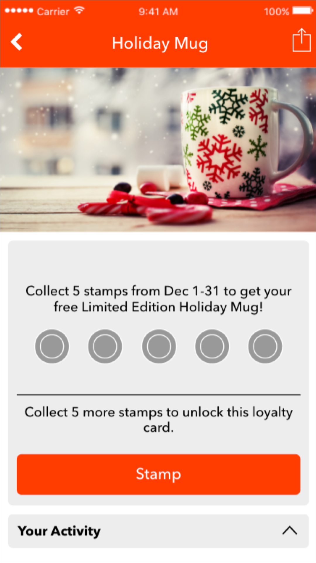 holiday loyalty program
