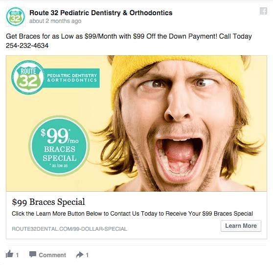 route 32 facebook ad