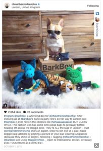 barkbox influencers