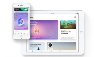 iOS Apple new app store