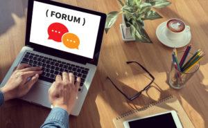 social media forums