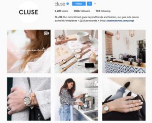 Cluse instagram